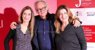 Francesca Reggiani, Gianfranco Lazotti e Giselda Volodi