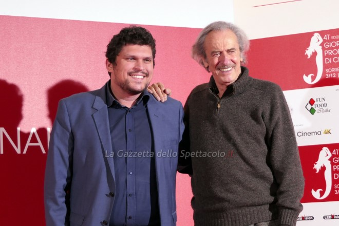Giuseppe Alessio Nuzzo e Mariano Rigillo alle Giornate del Cinema di Sorrento
