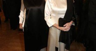 Irene Pivetti a La Scala di Milano. Foto da Ufficio Stampa