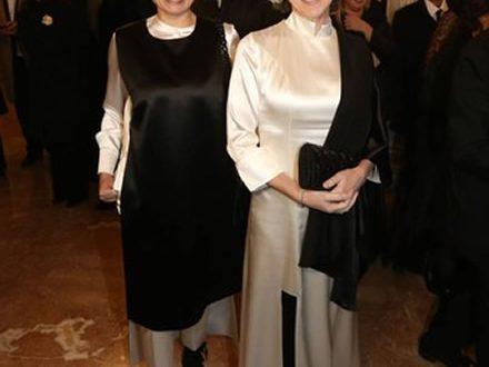 L'eleganza di Irene Pivetti illumina La Scala