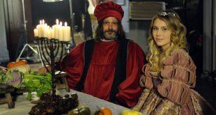 Lorenzo Raveggi e Jasmine Carrisi in La Dama e l'ermellino
