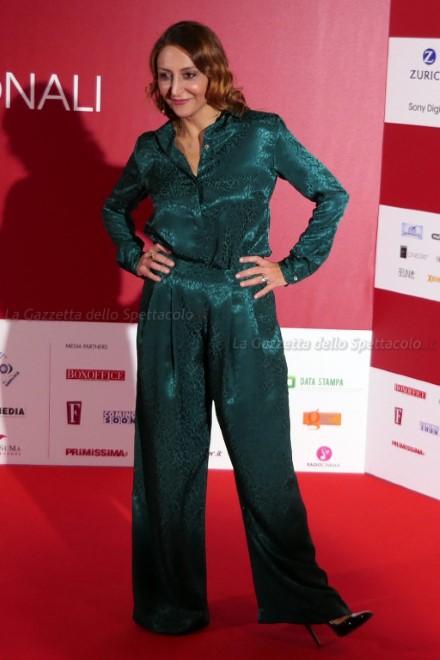 Paola Minaccioni alle Giornate di Cinema di Sorrento