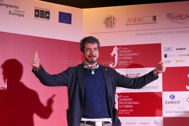 Paolo Ruffini per le Giornate di Cinema di Sorrento 2018