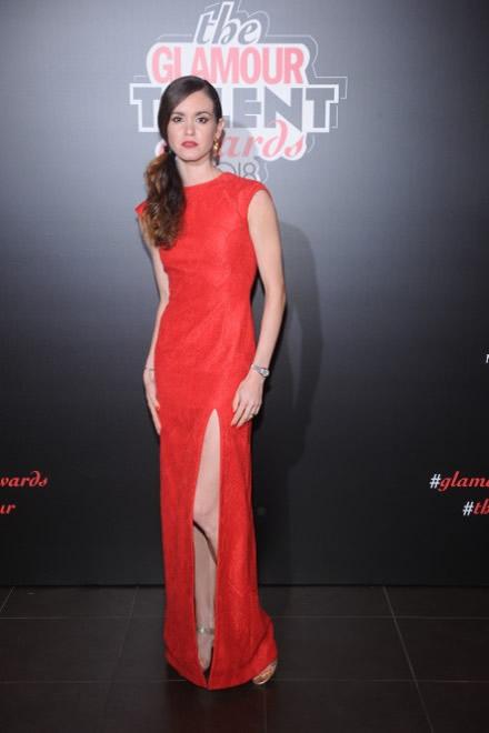 Petra Conti ai Glamour Talent Awards. Foto Marco Erba SGP