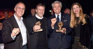 Premi Cinema e Boxe. Foto da Ufficio Stampa