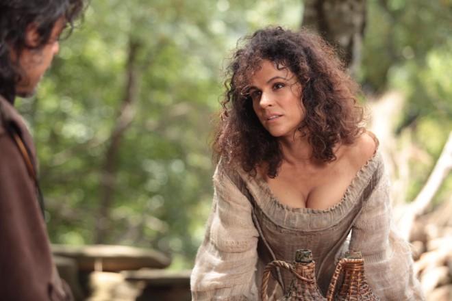 Roberta Procida in una scena di Moschettieri del Re. Foto da Ufficio Stampa