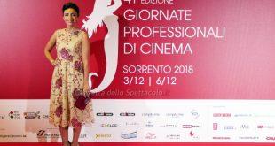 Serena Rossi alle Giornate di Cinema di Sorrento 2018