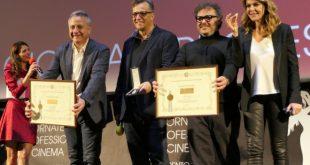 Tra i premiati al Biglietto d'oro, Gabriele Muccino e Claudia Gerini