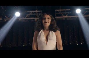 Frame di Serena Rossi nel trailer di Mia Martini
