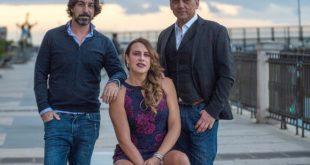 Marco Mazzoli, Karla Gascon e Giorgio Serafini in Sesso e altri inconvenienti. Foto da Ufficio Stampa