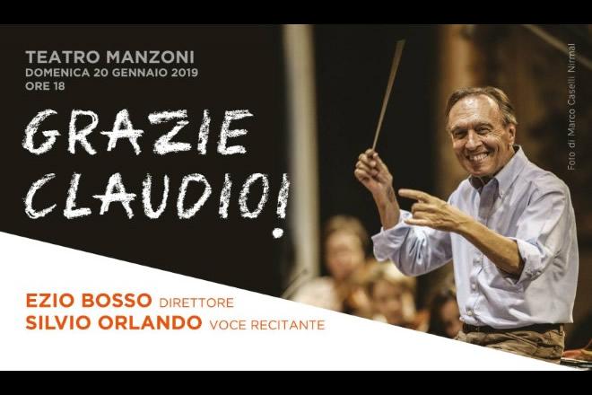 Grazie Claudio, evento diretto da Ezio Bosso