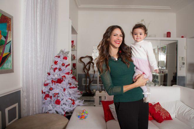 Janet De Nardis con la piccola Joy. Foto di Alessandro Bachiorri