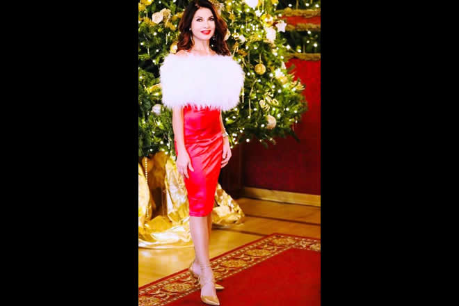Nadia Bengala a Natale