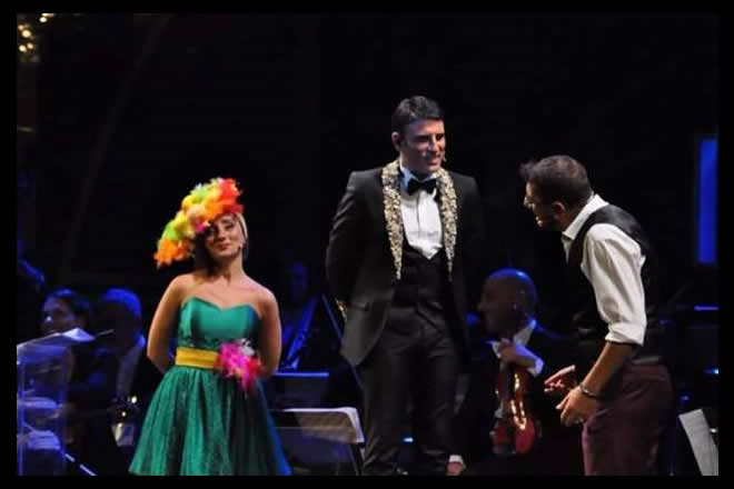 Una scena di Sinfonie in Sal Maggiore