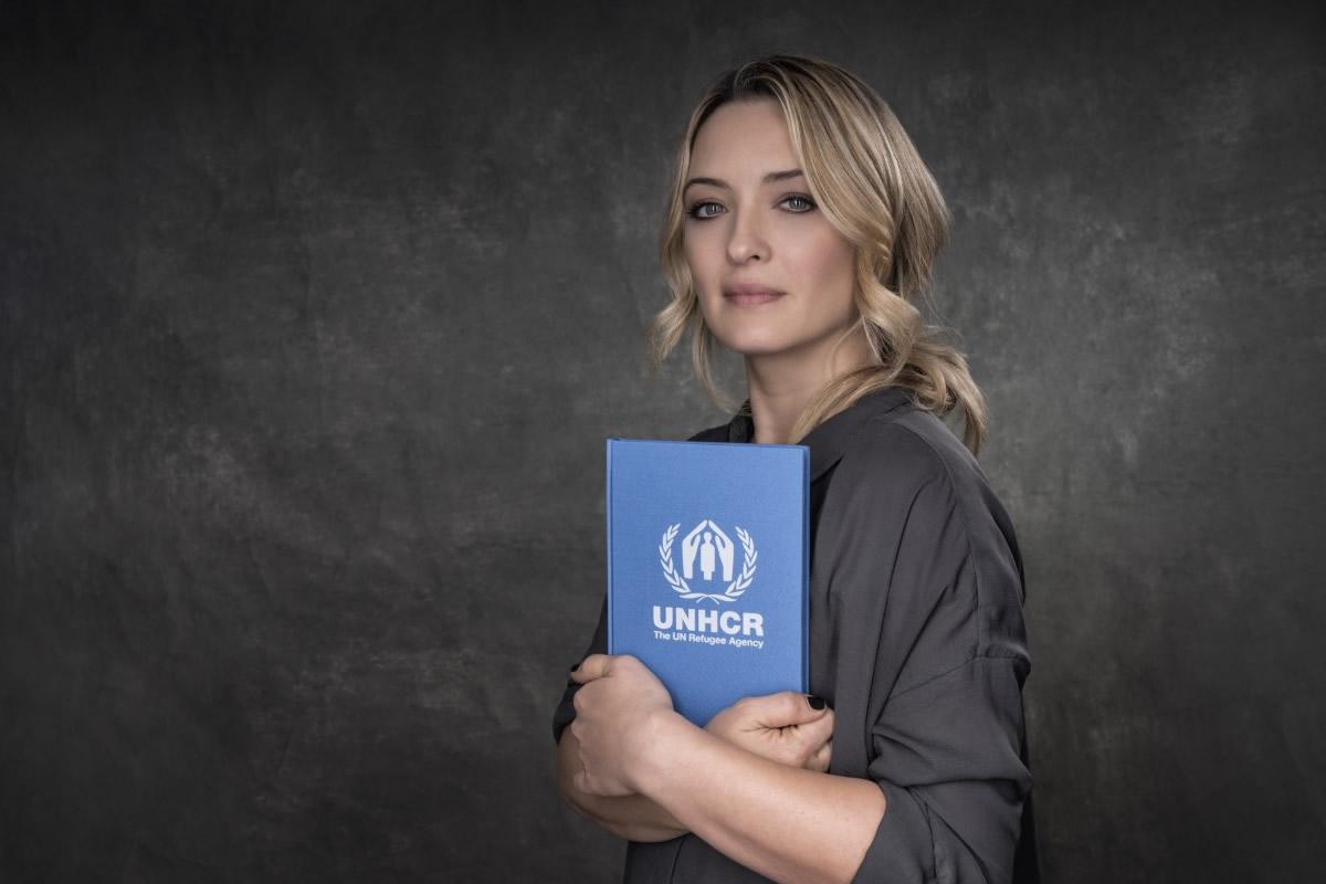 Carolina Crescentini per UNHCR. Foto di Riccardo Ghilardi