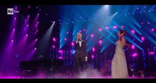 Claudio Baglioni e Serena Rossi al Festival di Sanremo 2019