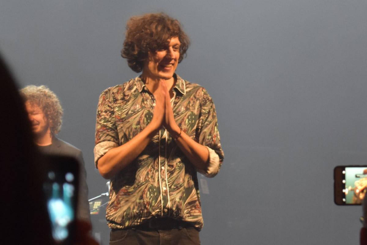 Ermal Meta live. Foto di Chiara Arciprete