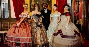 Gran Ballo di Carnevale tra le Epoche con Katia Greco e Miriam Galanti. Foto da Ufficio Stampa