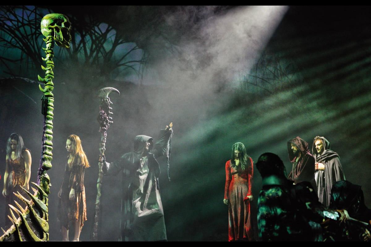La Divina Commedia Opera Musical. Foto di Massimo Camplone