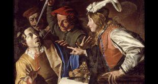 La rissa o Banchetto di Assalone - M. Stom. Foto dal Web