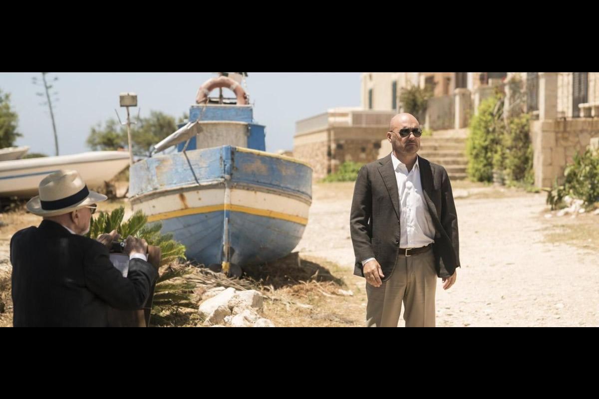 Luca Zingaretti in una scena del nuovo episodio del Commissario Montalbano