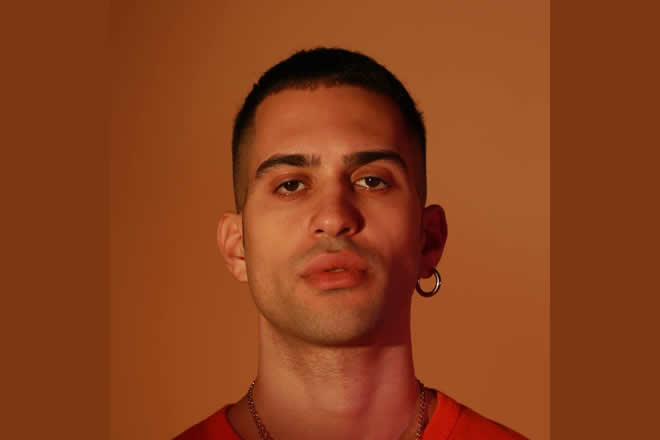 Mahmood. Foto da Facebook