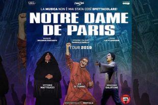 Notre Dame de Paris - Tour 2019