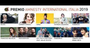 Premio Amnesty International Italia 2019