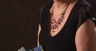 Simona Barugola con il libro Pippa della Palude