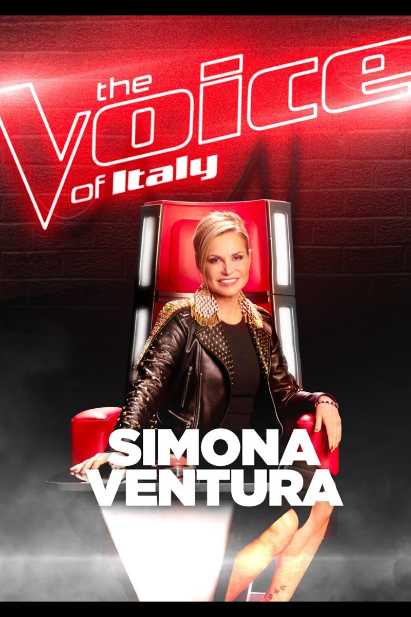 The Voice of Italy con Simona Ventura