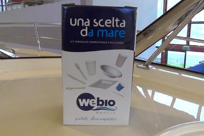 WeBioNautic nella sua confezione su nave Gagliotta