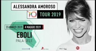 Alessandra Amoroso - 10 tour al Palasele di Eboli