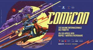 Comicon 2019 - Il manifesto di Francesco Francavilla