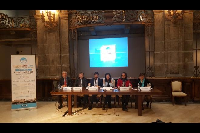 Conferenza stampa di presentazione di NapoliCittàLibro 2019