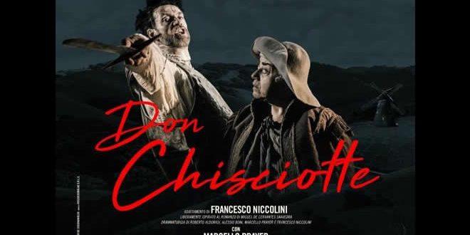 Don Chisciotte: straordinario Alessio Boni