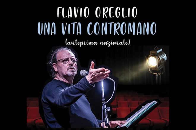 Flavio Oreglio in Una vita contromano