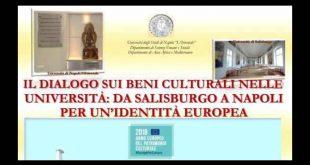 Il dialogo sui beni culturali nelle Università da Salisburgo a Napoli