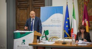 Pino Acquafredda per il Premio Alberoandronico. Foto di Zhanna Stankovych