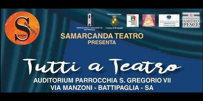 Samarcanda: tutti a Teatro
