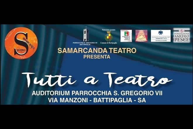 Samarcanda - Tutti a teatro