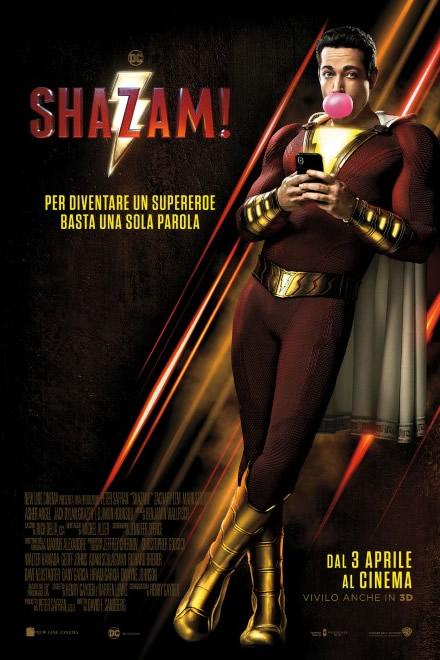 Shazam! - Locandina del film.