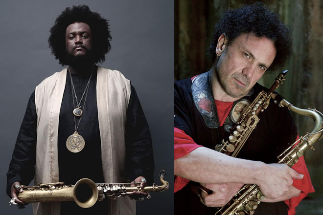 Enzo Avitabile e Kamasi Whashington per Noisy Naples Fest
