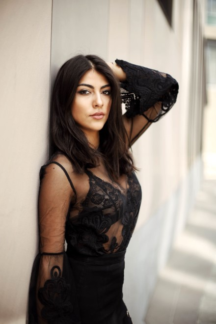 Giulia Salemi. Foto da Ufficio Stampa
