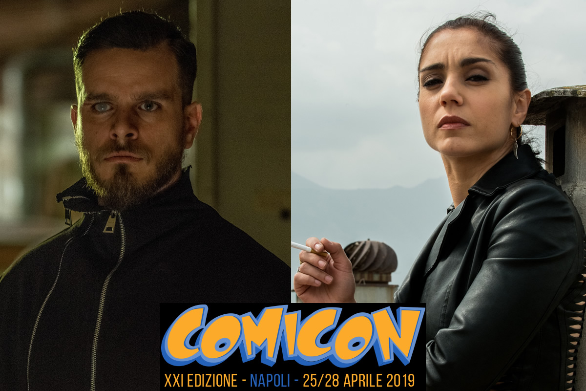 Gomorra sbarca al Comicon