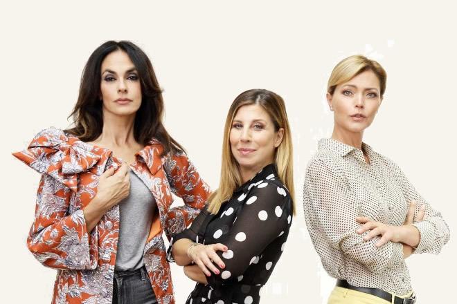 Maria Grazia Cucinotta, Michela Andreozzi e Vittoria Belvedere sono le Figlie di Eva
