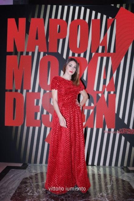 Miriam Candurro a Napoli Moda Design. Foto di Vittorio Iumiento