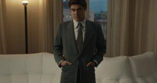 Riccardo Scamarcio in una scena di Lo Spietato. Foto caricata da Andrea Miner in courtesy of Netflix