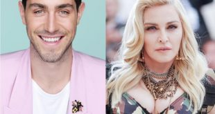 Tommaso Zorzi e Madonna. Foto dal Web