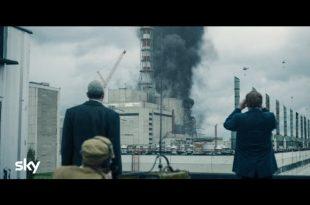 Un frame di Chernobyl, in onda su Sky