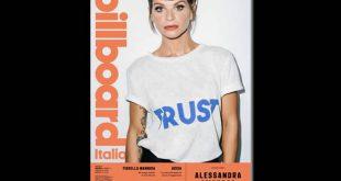 Alessandra Amoroso in copertina su BillBoard Italia - Maggio 2019